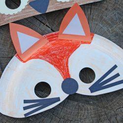 Anleitung für selbst designte Masken aus festem Papier